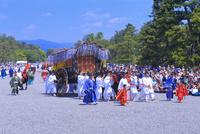 葵祭 26121029953| 写真素材・ストックフォト・画像・イラスト素材|アマナイメージズ