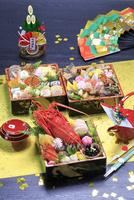 おせち料理 26121031337| 写真素材・ストックフォト・画像・イラスト素材|アマナイメージズ