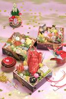 おせち料理 26121031353| 写真素材・ストックフォト・画像・イラスト素材|アマナイメージズ