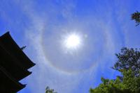 日暈 26121031924| 写真素材・ストックフォト・画像・イラスト素材|アマナイメージズ