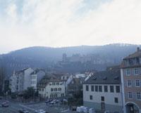 ハイデルベルク城遠望 26125003117  写真素材・ストックフォト・画像・イラスト素材 アマナイメージズ