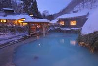 冬の乳頭温泉郷鶴の湯温泉