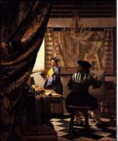 Die Malkunst (Allegorie der Malerei)/絵画芸術 26129000178| 写真素材・ストックフォト・画像・イラスト素材|アマナイメージズ
