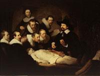 Die Anatomievorlesung des Dr. Nicolaes Tulp/テュルプ博士の解