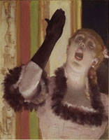 Die Sangerin mit dem Handschuh/手袋をした歌手