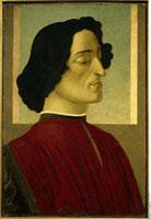 Giuliano de Medici/ジュリアーノ・デ・メディチの肖像