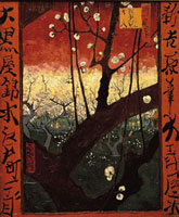 Der Baum/花咲く梅の木(広重による)