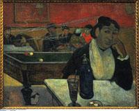 Caf in Arles/アルルの夜のカフェにて(ジヌー夫人)