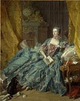 Bildnis der Marquise de Pompadour/�|���p�h�D�[���v�l�̏ё�