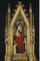 Giebelfeld-Madonna mit dem Kind/聖女ウルスラ伝の聖遺物箱(