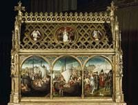 Darstellung des Massakers an den Pilgern/聖女ウルスラ伝の聖