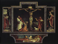 Isenheimer Altar des Antoniterklosters in Isenheim/イーゼン