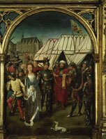 Der MArtyrertod Ursulas./聖女ウルスラ伝の聖遺物箱(一部)