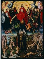 Weltgerichts-Altar - Mittelteil/�Ō�̐R��