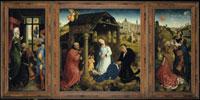 Der Middelburger Altar (Bladelin-Altar)/ブラデリンの祭壇画