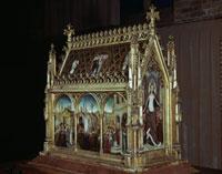 Ursula-Reliquiar/聖女ウルスラ伝の聖遺物箱 26129000352| 写真素材・ストックフォト・画像・イラスト素材|アマナイメージズ
