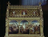 Ursula-Reliquiar/聖女ウルスラ伝の聖遺物箱 26129000353| 写真素材・ストックフォト・画像・イラスト素材|アマナイメージズ