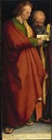 Vier Apostel: Hll. Johannes Ev. und Petrus/四人の使徒(使 26129000354| 写真素材・ストックフォト・画像・イラスト素材|アマナイメージズ
