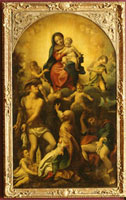 Die Madonna des Heiligen Sebastian/聖セバスティアヌスの聖母 26129000355| 写真素材・ストックフォト・画像・イラスト素材|アマナイメージズ