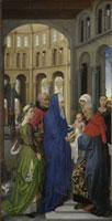 Columba-Altar: Darbringung im Tempel/コロンバの祭壇画 (キリ 26129000361| 写真素材・ストックフォト・画像・イラスト素材|アマナイメージズ