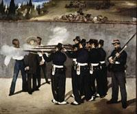 Die Erschiesung Kaiser Maximilians von Mexico/皇帝マク