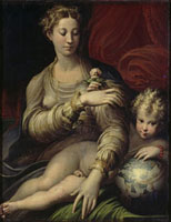Die Madonna mit der Rose/バラの聖母 26129000372| 写真素材・ストックフォト・画像・イラスト素材|アマナイメージズ