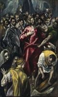 Entkleidung Christi (El Espolio)/聖衣剥奪(トレド大聖堂にあ