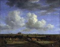 """""""Haarlem von den Dunen im Nordwesten gesehen"""""""