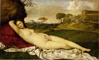 Schlummernde Venus/眠れるヴィーナス