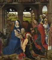 Columba-Altar: Anbetung der Konige/コロンバの祭壇画(東方三 26129000388| 写真素材・ストックフォト・画像・イラスト素材|アマナイメージズ