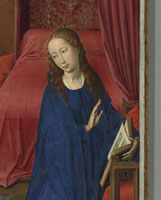 Columba-Altar: Verkundigung/コロンバの祭壇画(受胎告知 *部