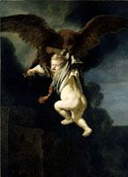 Ganymed in den FAngen des Adlers
