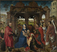 Columba-Altar: Anbetung der Konige/コロンバの祭壇画(東方三 26129000405| 写真素材・ストックフォト・画像・イラスト素材|アマナイメージズ