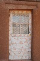 タオス・プエブロの住居の玄関