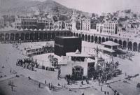 100年前のメッカ聖モスク