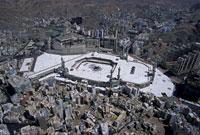 聖モスク空撮