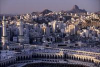 聖モスクよりヒラー山を望む
