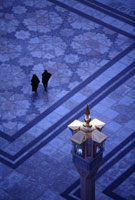 預言者モスク中庭