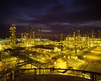 石油化学コンビナート 26140000828| 写真素材・ストックフォト・画像・イラスト素材|アマナイメージズ