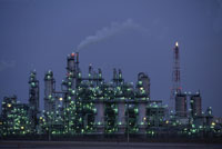 石油化学コンビナート 26140000830| 写真素材・ストックフォト・画像・イラスト素材|アマナイメージズ