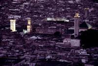 カラウィン・モスクのミナレット