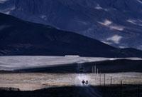 オート・アトラス山中の道
