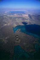 ジブチ湾とアッサル湖