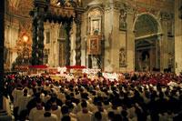 クリスマスに行われた大聖年のミサ