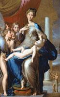 長い首の聖母