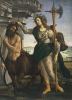 Pallas taming the Centaur/パラスとケンタウロス