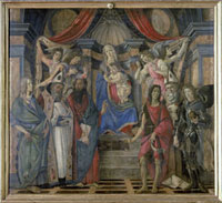 Predella panel of the 'San Barnaba altarpiece'/サン・バルナバ祭