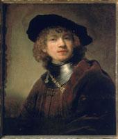 Self-portrait as a young man/自画像 26144000107  写真素材・ストックフォト・画像・イラスト素材 アマナイメージズ