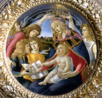 Madonna of the Magnificat./マニフィカトの聖母