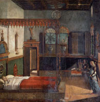 The dream of Saint Ursula.